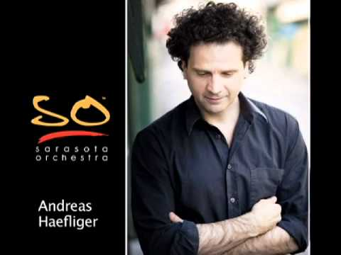 Sarasota Orchestra Andreas Haefliger