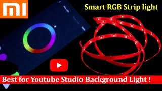 Best for YouTube Studio Background Light | Xiaomi Smart multi color Strip light