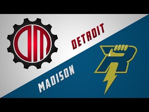 Detroit Mechanix vs Madison Radicals