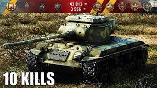 Т25/2 WOT КАК ИГРАТЬ (АККУРАТНО) 10 фрагов 🌟🌟🌟 World of Tanks лучший бой T25/2