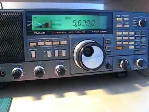 CNR 8, Kazakh program, 9630 khz, received on a Yaesu FRG 8800 in Germany