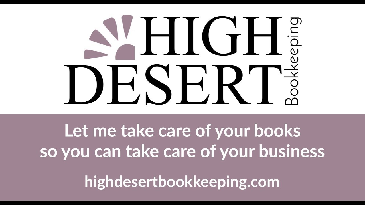 High Desert Bookkeeping