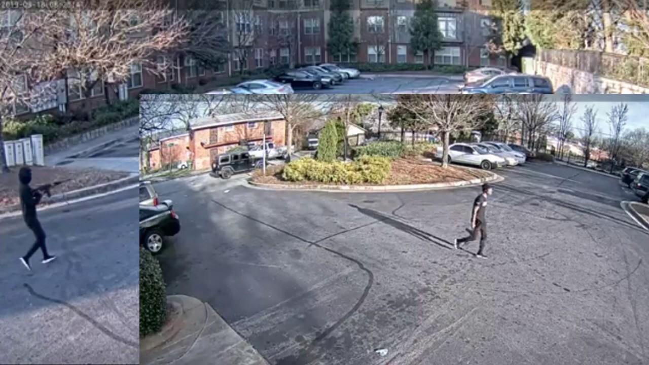 WS Heathen Shoots Up Atlanta Apartment Complex Twice