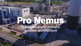 How Metsä Group's visitor centre Pro Nemus was built using engineered wood products