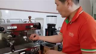 콘티커피머신자동청소 방법 - 커피는고도현-