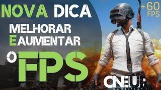 Melhorar e Aumentar o FPS do  PUBG    msconfig   NOVA DICA  