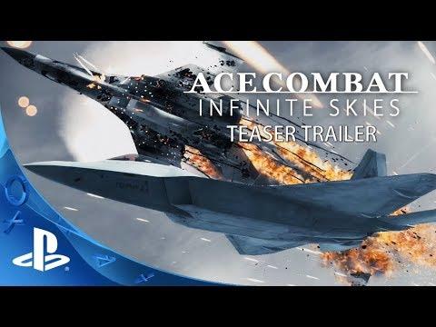 Ace Combat: Infinite Skies (PS4) Teaser Trailer | April 1st