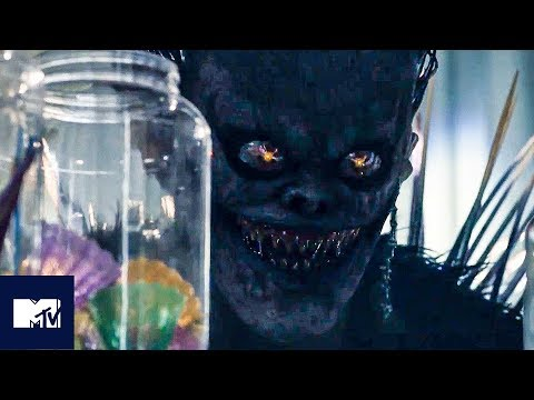 DEATH NOTE Movie (2017) | Ryuk BEHIND THE SCENES 🍎 | MTV Movies