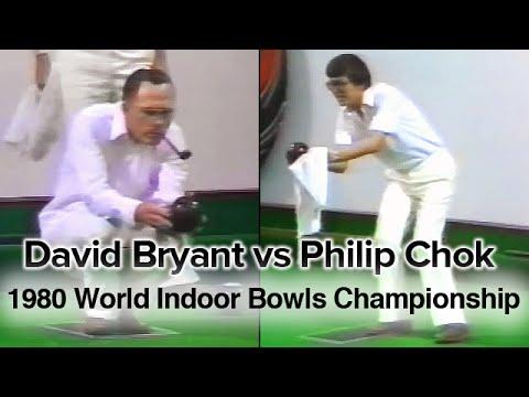 David Bryant vs Philip Chok (1980 World Indoor Bowls Championship) FULL VIDEO