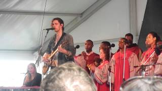 """Work Song"" - Hozier at Newport Fok Festival 7.28.2014"