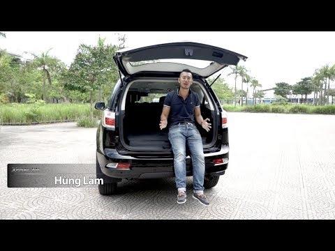 Đánh giá xe Chevrolet Trailblazer – đối thủ Ford Everest (Phần 2) |XEHAY.VN|