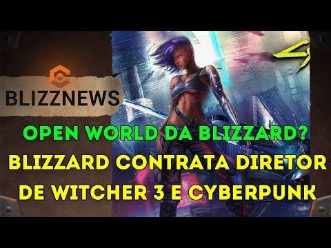 Blizzard Contrata Diretor de Criação de Witcher 3 e Cyberpunk 2077! Open World da Blizzard? thumbnail