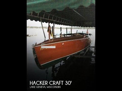 Used 1988 Hacker Craft 30 Triple Cockpit for sale in Lake Geneva, Wisconsin