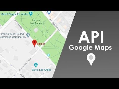 API GOOGLE MAPS EN 10 LINEAS CON JAVASCRIPT