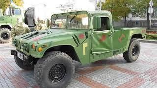 14 октября. Покров. Военная техника в городе Ровно