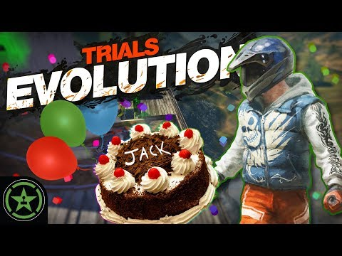 HAPPY BIRTHDAY JACK! - Trials Evolution   Let's Play