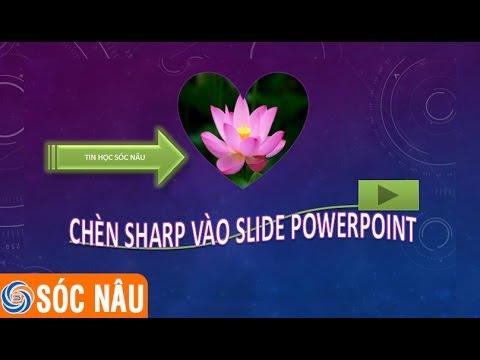 Bài 05: Chèn  Shapes vào Slide trong PowerPoint 2013