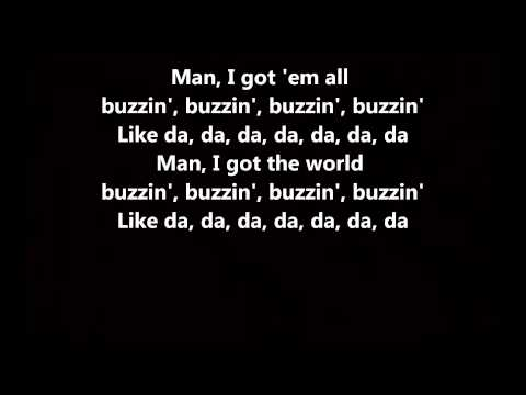 Buzzin' - Mann // Lyrics On Screen [HD]