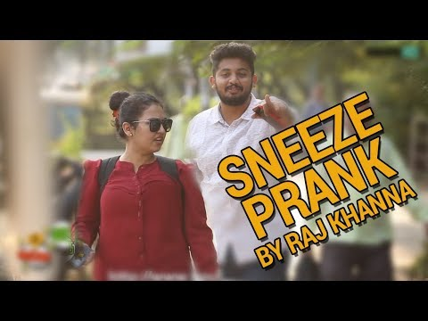 Sneezing Prank In Public | Boss Of Bakchod - Raj Khanna | Weird Sneezing | HighIQ