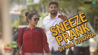 Sneezing Prank In Public By Raj | BOB | Weird Sneezing | HighIQ