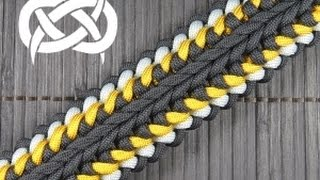 How to make a Sanctified Switchback Paracord Buckle Bracelet