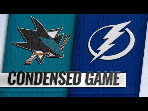 01/19/19 Condensed Game: Sharks @ Lightning