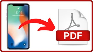 How To Convert Image To PDF on iPhone (And Photos Too)