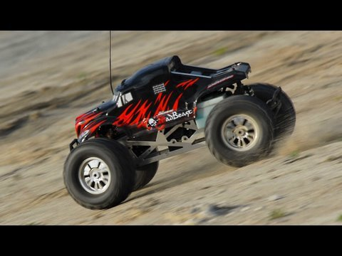 1 8th Scale Exceed Rc Mad Beast Nitro Gas Monster Truck