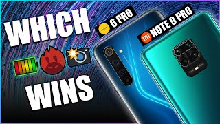 Redmi Note 9 Pro Vs Realme 6 Pro | Camera, Battery, Benchmark Comparison & More