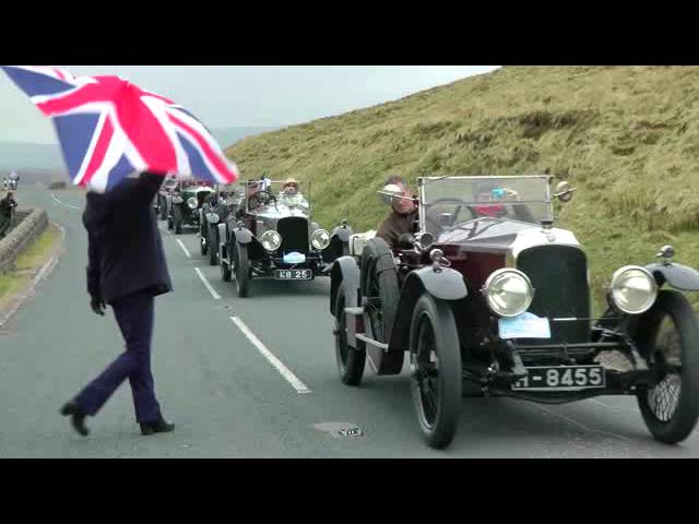 Vauxhall 30/98 owners recreate 1913 hillclimb