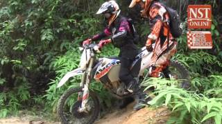 Ahirine learns to ride offroad: Part 4