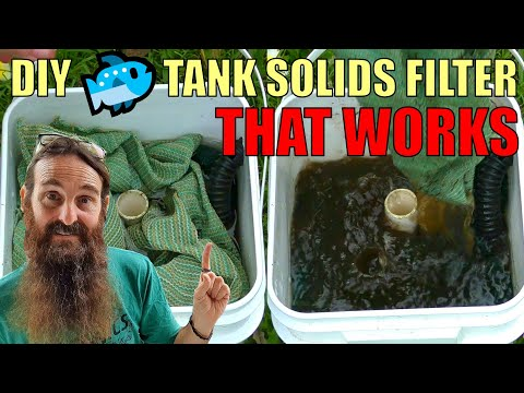 Solids Filter For Aquaponic System | Canister Filter