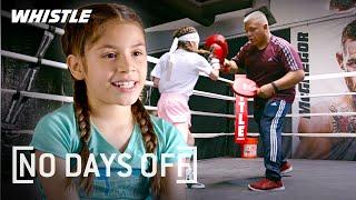 10-Year-Old Female Boxing PRODIGY