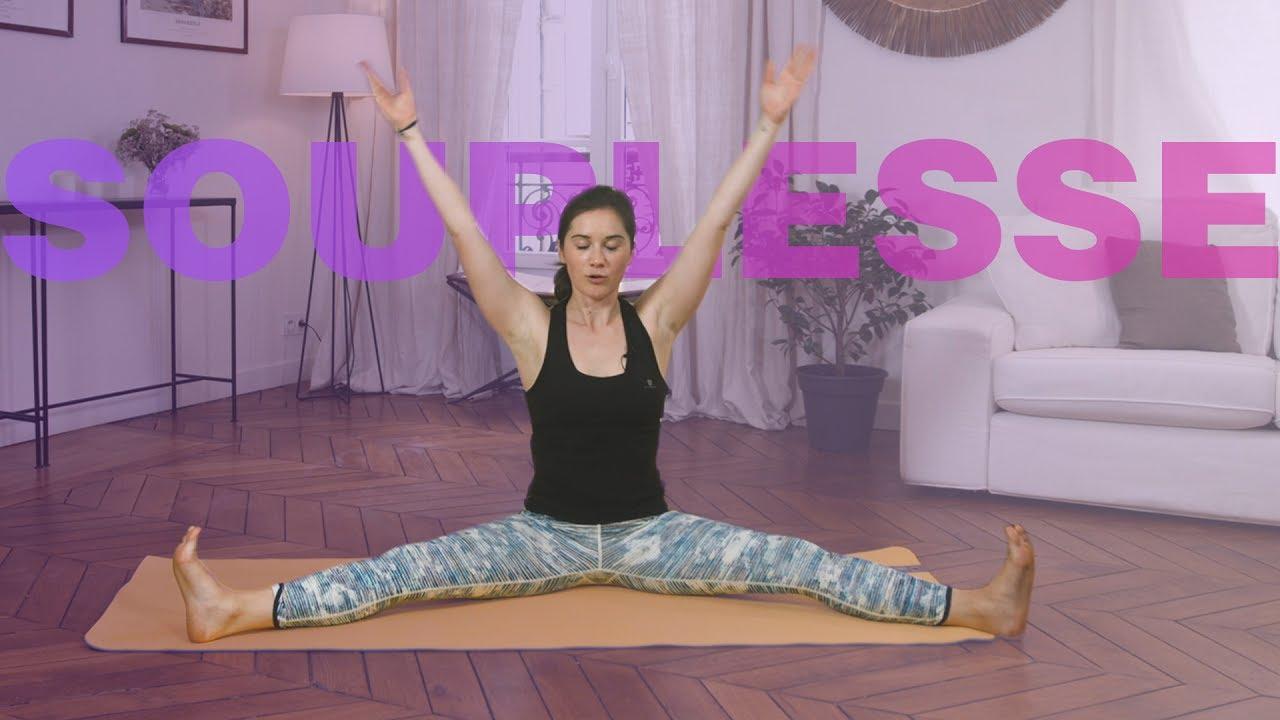 Yoga Flow – Souplesse et ouverture des hanches (20 min) - YouTube f81139af3e3