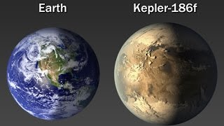 Alien Planet Kepler 186f - A Cousin of Earth