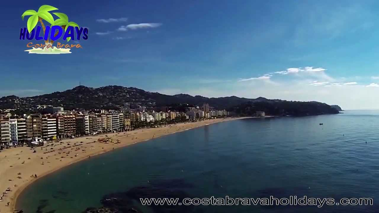 playa de lloret de mar costa brava youtube. Black Bedroom Furniture Sets. Home Design Ideas