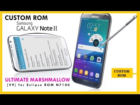 Eclipse ROM Note 2 N7100 || Marshmallow-Style-MOD-V9