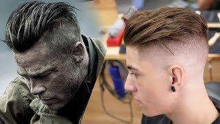 Brad Pitt hair from FURY | Men's Hair Inspiration 2018