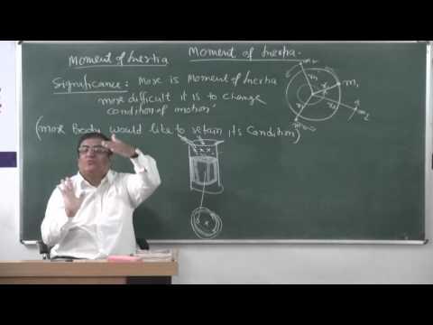 XI-7.3.Moment of Inertia (2014) Pradeep Kshetrapal Physics