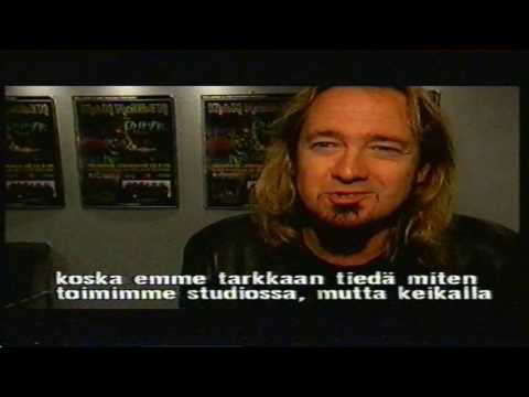 Iron Maiden – Interview with Bruce Dickinson & Adrian Smith (Ed Hunter Tour in Helsinki 1999)