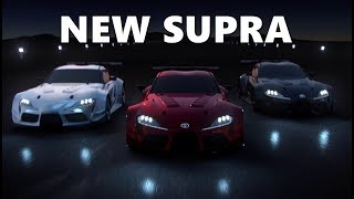 2019 Toyota Supra Racing Action Trailer