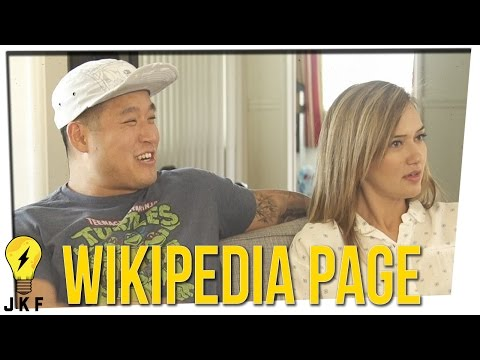 Hangin' With JK: How Would Your Friends Write Your Wikipedia Page?
