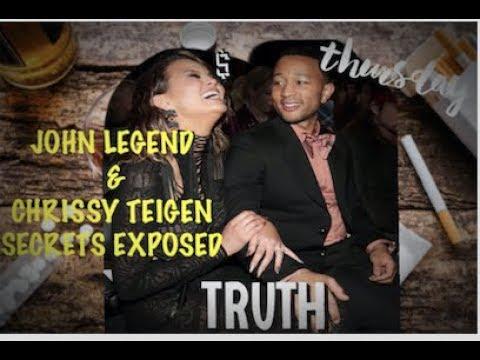 JOHN LEGEND AND CHRISSY TEIGEN -SECRETS EXPOSED