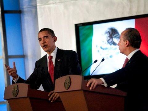 Obama/Calderón Joint Press Conference