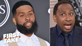 OBJ won't be able to escape his frustrations in Cleveland – Stephen A. | First Take