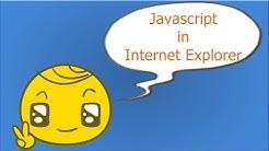 Javascript Deaktivieren/Aktivieren im Internet Explorer
