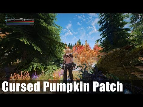 Skyrim Boss Showcase: Cursed Pumpkin Patch