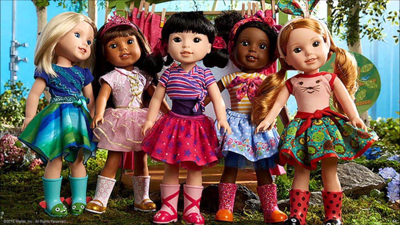 American Girl New Dolls Wellie Wishers Youtube