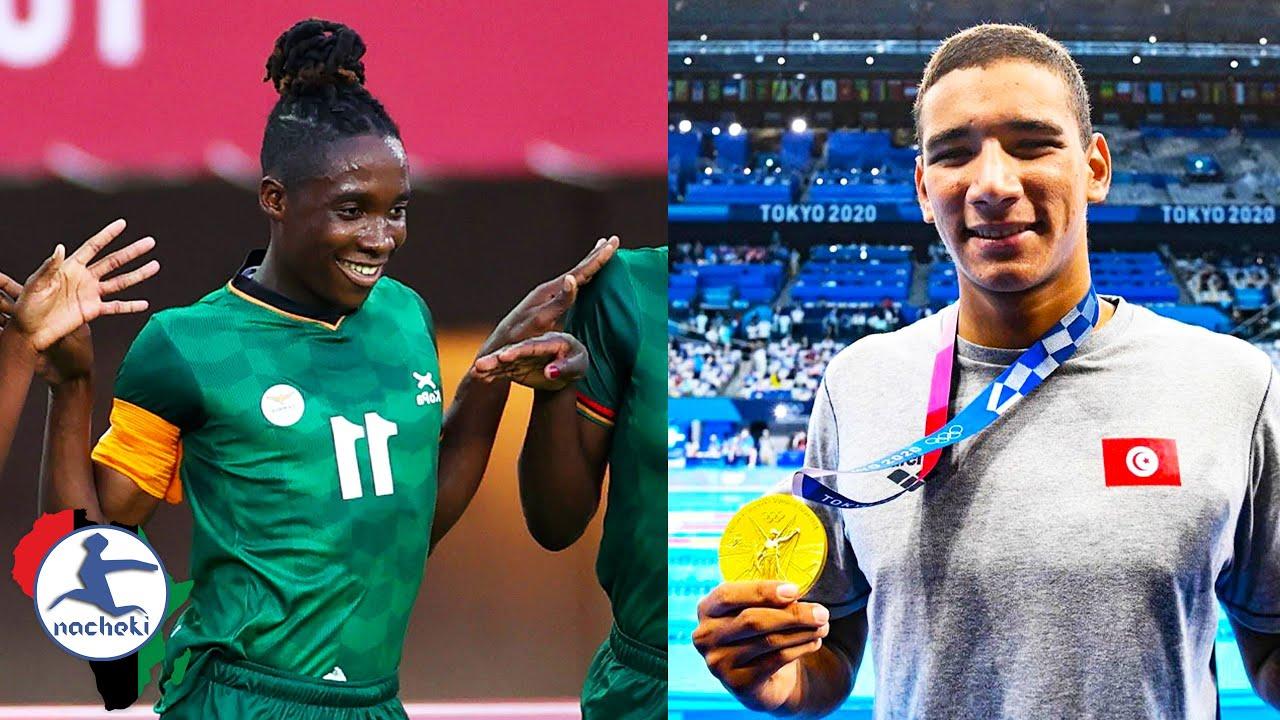 Tunisian Teen Wins Gold in Swimming, Banda Breaks Olympic Hat-Trick Record, SA Swimmer Breaks Record