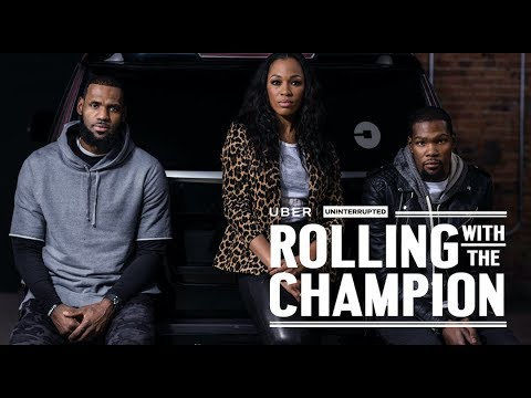 Kevin Durant x LeBron James x Cari Champion | ROLLING WITH ...